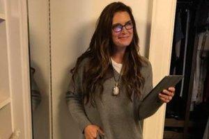 52-летняя Брук Шилдс в белье снялась в рекламной кампании Calvin Klein