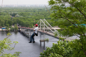 Возвращение канатной дороги: где в Киеве заработает троллей над Днепром