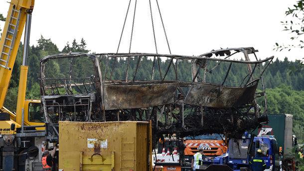 ВДТП стуристическим автобусом вБаварии пострадал 31 человек