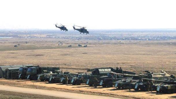 Российское войско на границе с Украиной. Фото: Facebook/Минобороны РФ