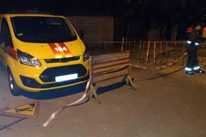 """В Киеве вооруженные люди напали на аварийную бригаду """"Киевгаза"""", есть пострадавшие"""
