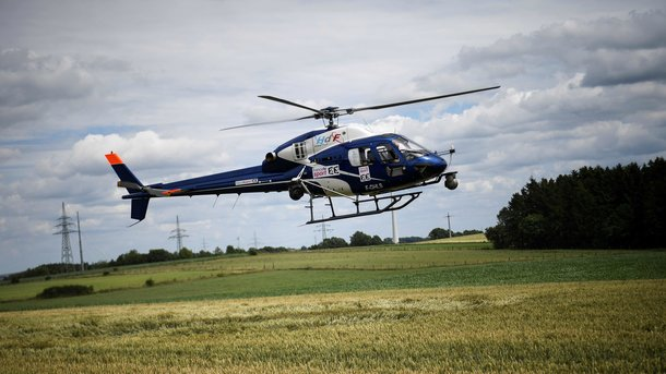 Полицейские устранили правонарушителя, который пытался похитить вертолет вОрегоне