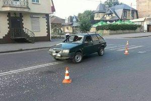 ДТП в Харькове: пешеход пробил лобовое стекло