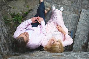 Ольга Горбачева и Юрий Никитин отметили годовщину свадьбы в замке