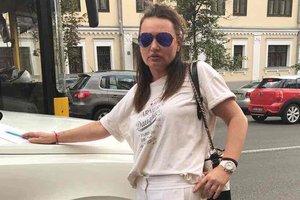 Ирэна Кильчицкая попала в ДТП в центре Киева
