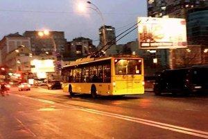 В Киеве из-за ремонта дороги изменят маршруты шести троллейбусов