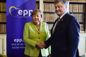 Порошенко и Меркель скоординировали позиции перед саммитом G20