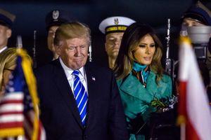 Trump paid a visit to Poland