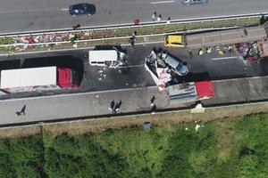В Болгарии столкнулись 40 автомобилей