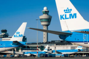 Flight Amsterdam - Kiev was launched in the sky of