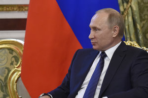 The white house has vydelil at the first meeting of Putin and trump about half an hour