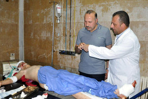 In the East of Damascus, the Assad regime has used chlorine gas