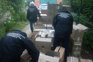 Одесские пограничники изъяли сигареты на миллион гривен