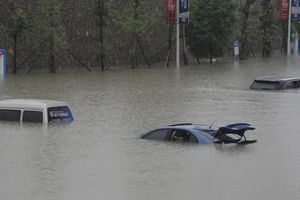 Due to floods in Japan killed 15 people