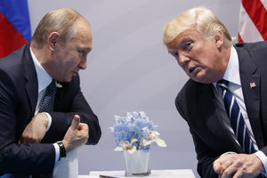 Гамбургский счет: как позитивная химия между Трампом и Путиным поможет закончить войну на Донбассе