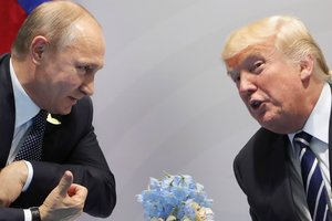 Putin claims that he was able to establish a personal relationship with trump