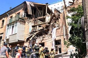 Новые подробности мощного взрыва в Киеве