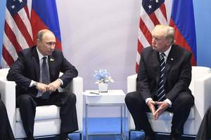 The problem is not resolved: the United States said, how was the meeting between Putin and trump