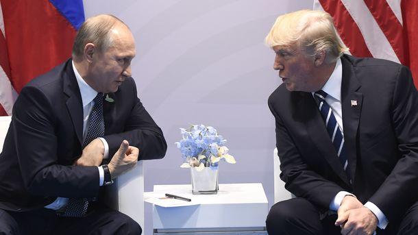 Трамп пришел ввосторг отвстречи сПутиным— Госдеп