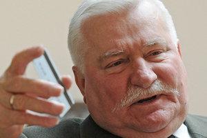 Экс-президент Польши Лех Валенса госпитализирован