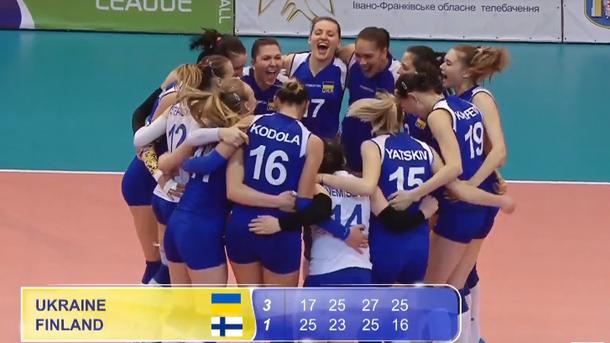 Женская сборная Украины поволейболу сенсационно выиграла Евролигу
