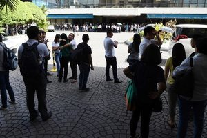 The Philippines was rocked by tremors