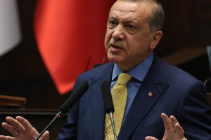Erdogan called on Iraq to prevent a referendum on independence for Kurds