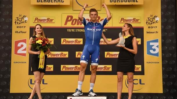 Велогонка «Тур деФранс». результаты десятого этапа