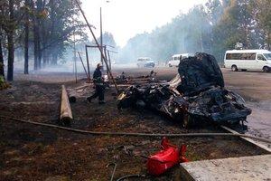 Подробности ДТП со взрывом на заправке под Киевом: погибла 80-летняя мать водителя