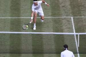 Роджер Федерер стал последним полуфиналистом Уимблдона