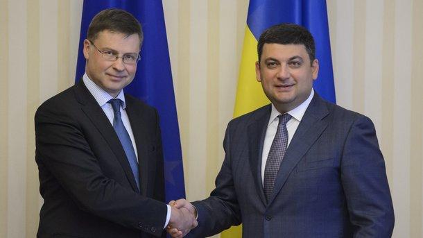 Украине дали 4 месяца на осуществление условийЕС для получения финпомощи