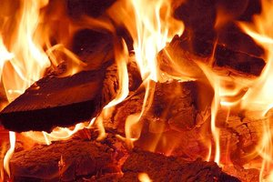В Донецкой области горел поезд