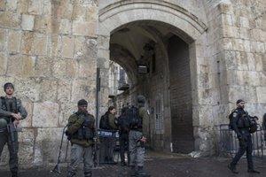 На Храмовой горе в Иерусалиме совершено нападение: есть пострадавшие