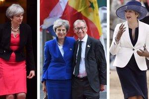 Мода и политика: каким был стиль Терезы Мэй в первый год работы премьером Британии