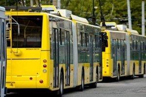 В Киеве изменится работа троллейбусов нескольких маршрутов