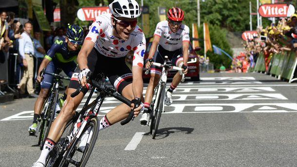 Фабио Ару сохранил лидерство вобщем зачёте «Тур деФранс»