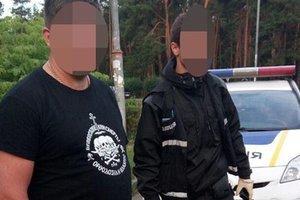 Неизвестные в Киеве устроили стрельбу