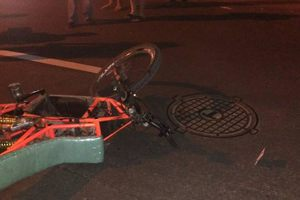 Под Киевом произошло ДТП с участием пешехода, мотоциклиста и автомобиля