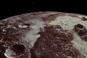 НАСА показало новые видео пролета над Плутоном и Хароном
