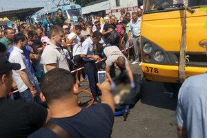 В центре Одессы маршрутка насмерть сбила пешехода