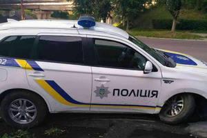 """Разбит первый полицейский """"гибрид"""" Mitsubishi"""