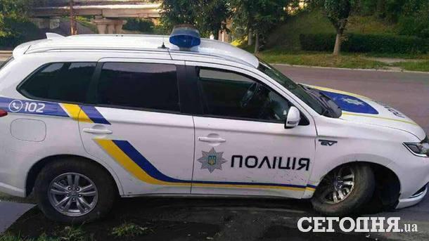 """Полицейские попали в ДТП в Каменском. Фото: """"Сегодня"""""""