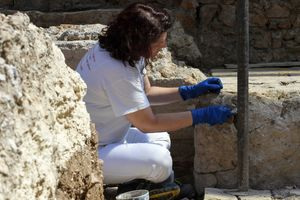 "Сотни древних гробниц обнаружены в ""долине мертвого огня"""