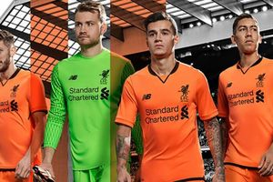 """""""Ливерпуль"""" представил запасной вариант формы на новый сезон в оранжевых цветах"""