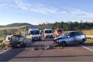 Жуткое ДТП произошло на трассе Киев-Чоп