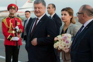 Порошенко прибыл в Грузию с официальным визитом
