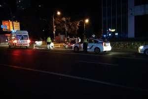 В Киеве под колесами авто оказался пешеход-нарушитель
