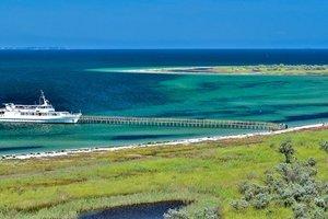 На острове в Черном море застряли 300 туристов