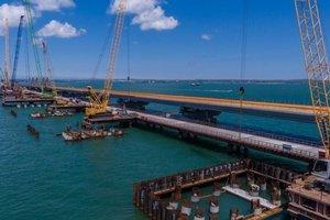 В РФ заявили, что автомобильный мост в Крым готов на 75 процентов