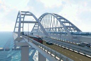 В Сети появилось видео новой 3D-визуализации Крымского моста